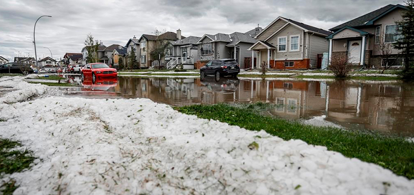 Alberta's Hail Suppression Program Helps Keep Houses And Other Properties Safe